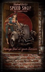 Rumble59 - Posters Hotrod Betty´s Speed Shop