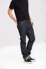 Fede denim bukser: Chet Rock - Slim Jim Jeans, navy