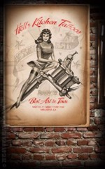 Rumble59 - Posters Helle Kitchen Tattoo