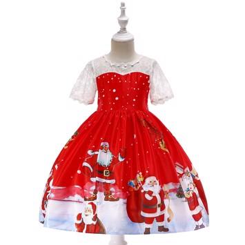 0fa1725ef06a Søde julekjoler med strut til piger 3-4 år til 10-11 år