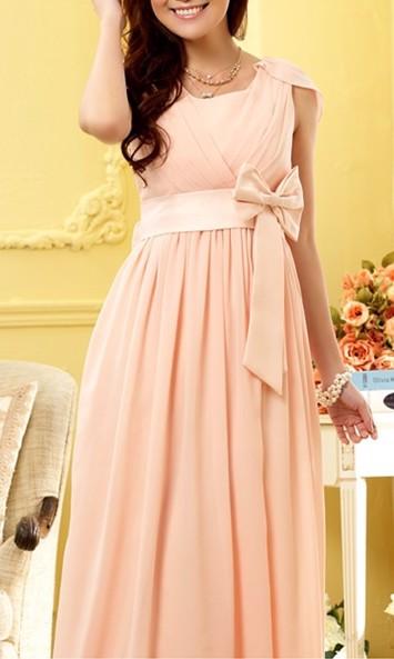 99bd6a22ebc1 Lang festkjole - Cathelin Rosa - lang gallakjole i lyserød