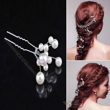 perler i håret